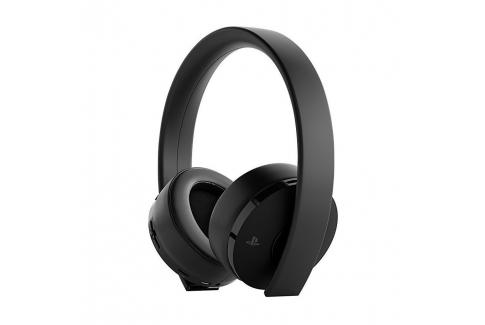 PS4 Wireless Gold Headset crne