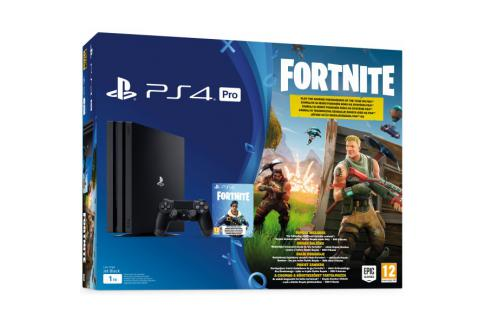 PlayStation 4 Pro 1TB B chassis + Fortnite VCH